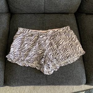 Victoria's Secret Zebra Pajama Shorts